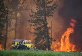 Wildfire News Eastern Washington by Wildfire Near Fish Lake A Picture Story At The Spokesman Review