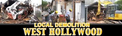 Interior Demolition Contractors Local Demolition West Hollywood 323 638 5865 Demolition