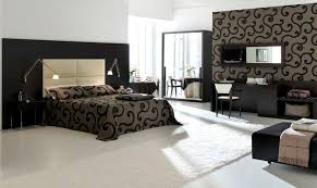 elegant and luxurious modern bedroom design with matching