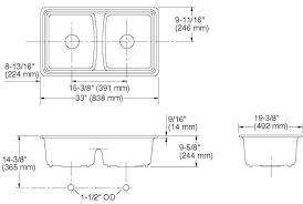 Double Sink Kitchen Size by Kitchen Sink Dimensions Small L Shaped Kitchen Design Corner Sink