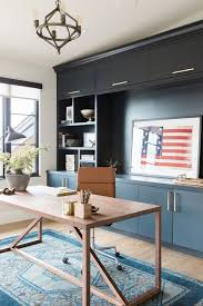 Vintage Blue Cabinets Promontory Project Downstairs Office U2014 Studio Mcgee