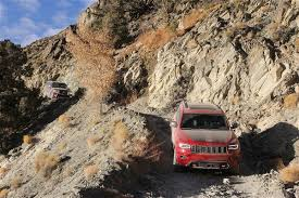 jeep grand cherokee trailhawk off road jeep grand cherokee trailhawk wins four wheeler 2017 suv of the year
