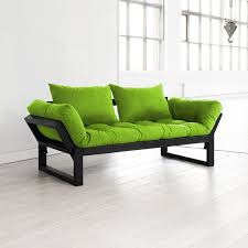 Lime Green Sofa by Black And Lime Green Bedding Edge Sofa Bed Black Lime Green