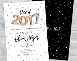 graduation invitations ideas graduation party supplies etsy