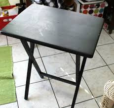 Tv Tray Table Tv Tray Turned Into A Diy Craft Table Mod Podge Rocks