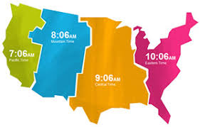 us map divided by time zones discovering time zones by timecenter