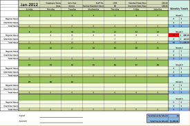 Excel Daily Timesheet Template 6 Timesheets Template Timeline Template