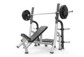 Flat And Incline Bench Breaker Olympic Flat Bench Free Weights Matrix Fitness