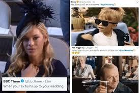 Royal Wedding Meme - the best royal wedding memes as prince harry s ex chelsy davy stares