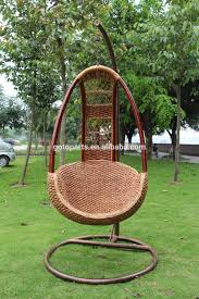 Childrens Swing Chair Hanging Rattan Swing Chair Mid Century Wicker Egg Bamboo Chain