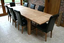 Dining Table Size For   Sfcloudserviceco - Dining table size for 8 chairs
