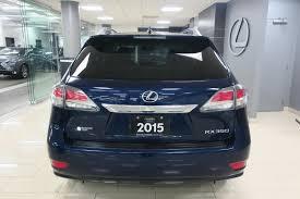 lexus minivan 2015 lexus rx 350 awd sportdesign 34 995 québec boulevard lexus