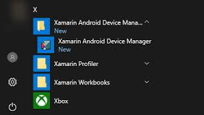 android device manager xamarin android device manager xamarin
