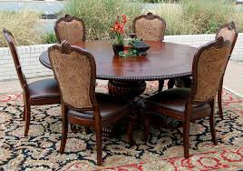 mahogany and more table and chair sets 7 piece old world
