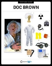Halloween Scientist Costume Ideas 25 Doc Brown Costume Ideas Doc Brown Marty