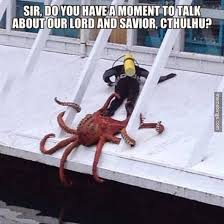 Scuba Meme - this is why i prefer land http memebinge com octopus grabs scuba