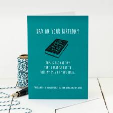 this is the birthday card birthday card for bad jokes by coulson macleod