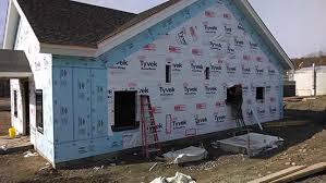 foam board insulation vinyl siding home construction