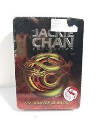 jackie chan collection dvd movie 5 disc set tin sealed new bonus