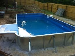 inground pool installation design of your house u2013 its good idea