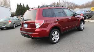 red subaru forester 2015 2010 subaru forester camellia red pearl stock 12787p walk