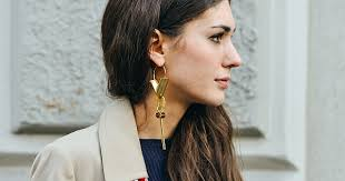 big ear rings look of the day big earrings style arabia