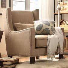 Wingback Accent Chair St Alden Linen Wingback Accent Chair Multiple Colors Walmart Com