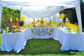 bumblebee baby shower bumble bee baby shower food drink and dessert tent yelp