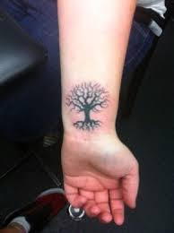 wrist tree frog symbols tattoos leg design idea for and