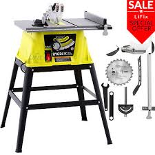 heavy duty table saw for sale table saw steel stand 27 x 17 15 amp adjustable miter heavy duty
