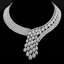 necklace set white images Necklaces astounding white necklace set earring and necklace sets jpg