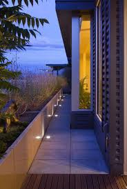 Landscape Lighting Los Angeles Led Yard Flood Lights With Contemporary Exterior And Awnings
