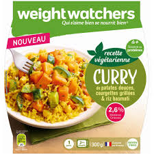 plat cuisiné weight watchers weight watchers curry de patattes douces courgettes grillées riz