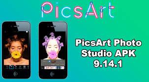 picsart photo editor apk picsart photo studio apk install for android