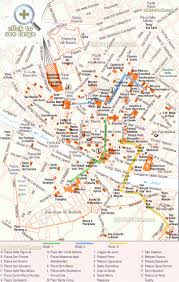 Large Scale Map Florence Maps Top Tourist Attractions Free Printable City