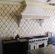 create thrilling ambience in your kitchen with beveled arabesque
