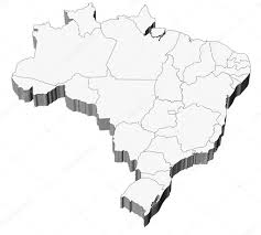 Blank Map Of Brazil by Map Of Brazil States Major Citites Planetware Mapa Dos Estados
