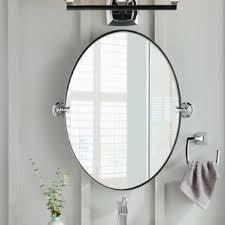Black Oval Bathroom Mirror Oval Mirrors You U0027ll Love Wayfair