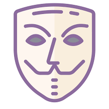 anonymous mask anonymous mask icon free png and vector