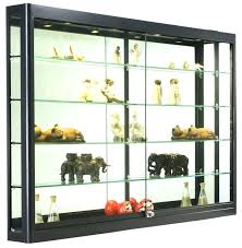 wall mounted curio cabinet wall mounted curio cabinets nomobveto org