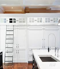 Kitchen Ladder Design Ideas - Kitchen cabinet rails