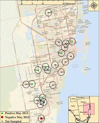 Miami City Map by Snail Trail For Parasites Expands