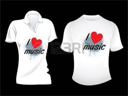 tshirt design white t shirt design template royalty free cliparts vectors and