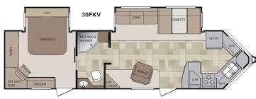 destination trailer floor plans front kitchen rv floor plans unique new keystone rv cougar x lite