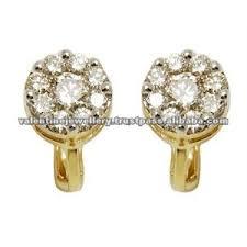 pressure earrings light weight gold earring pressure earrings daily wear earrings