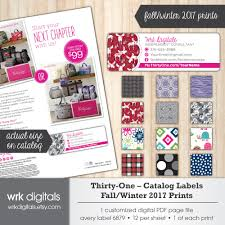 thirty one catalog labels thirty one consultant fall winter