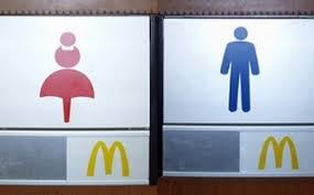 Bathroom Symbols Go Where Gender And Toilets Sociological Images