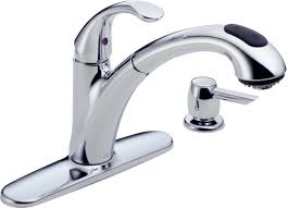 wall mounted kitchen faucet with sprayer kitchen alluring menards kitchen faucets for marvelous kitchen