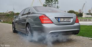 mercedes benz s65 amg w221 revs and burnout youtube
