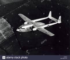 Fairchild Korean War Era Fairchild C119 Flying Boxcar Twin Engine Cargo
